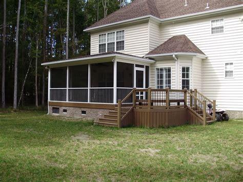 screen rooms for decks chesapeake decks porches and screen rooms casa decks