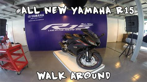 Header Knalpot R15 Stainless Leher Knalpot R15 vlog 2 launching all new yamaha r15 exhaust sound walk around and review