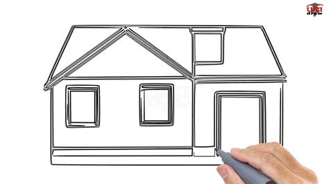 how to draw a house for kids step by step drawing how to draw a house step by step easy for beginners kids