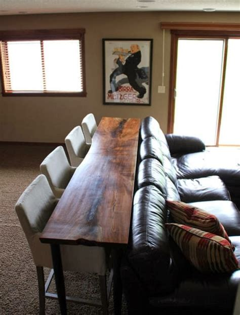 table behind the couch stylishbeachhome com staging your home for the holidays