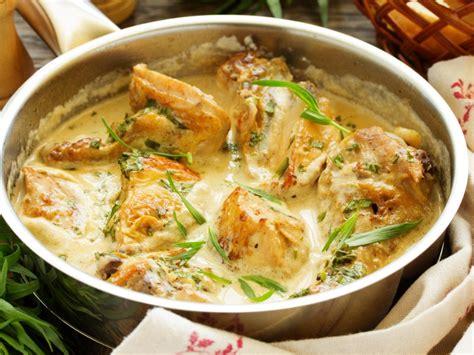 l de cuisiner poulet 224 l estragon recette d poulet 224 l estragon marmiton