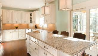 Cream Galley Kitchen - creating new cabinet space in kitchen remodel current in carmel