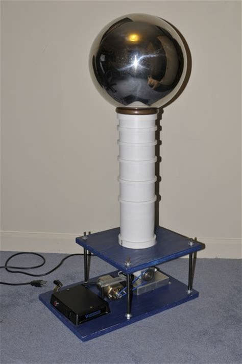 500 000 volt de graaff generator using cheap parts