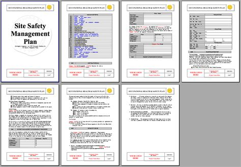 safety management system template wh s management plan