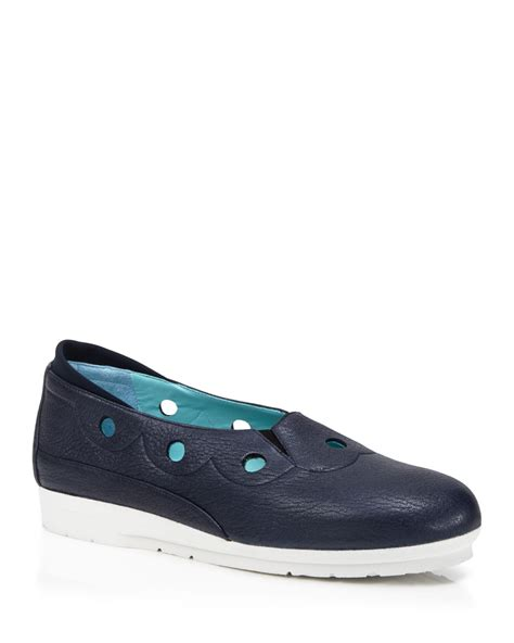 thierry rabotin shoes thierry rabotin flats sport in blue lyst
