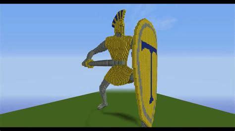 minecraft spartan statue youtube