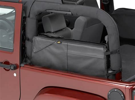 jeep wrangler 2 door storage wrangler saddle bag storage for 2 door 2007 14 wrangler