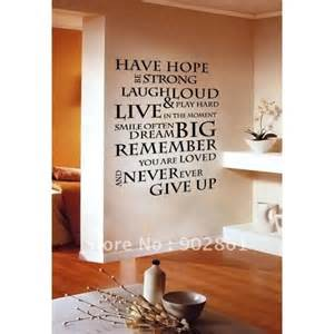 Wall Stickers Inspirational Quotes Inspirational Quotes Wall Decals Quotesgram