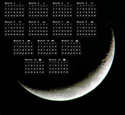 13 Moon Calendar The 13 Moon Calendar