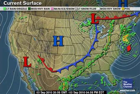 us weather map lows green sky chaser