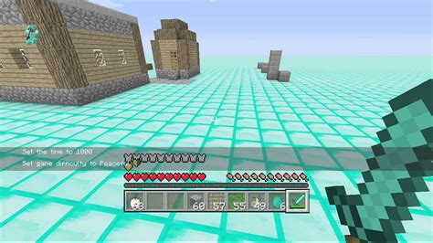 minecraft game console mod 1 6 4 minecraft console how to get an invis block no mods youtube