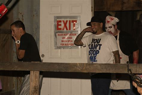 phobia haunted houses photos fans get spooked at phobia haunted house abc13 com