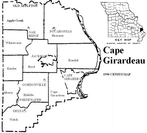 missouri map cape girardeau the usgenweb archives digital map library missouri county