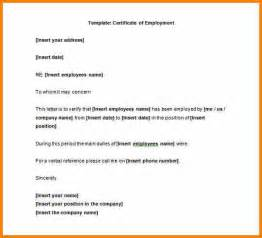 Resume Sample Work Experience by 8 Certificate Of Employment Sample Resume Reference