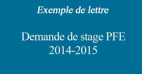 Exemple De Lettre Garde Altern E lettre de demande de stage pfe application letter