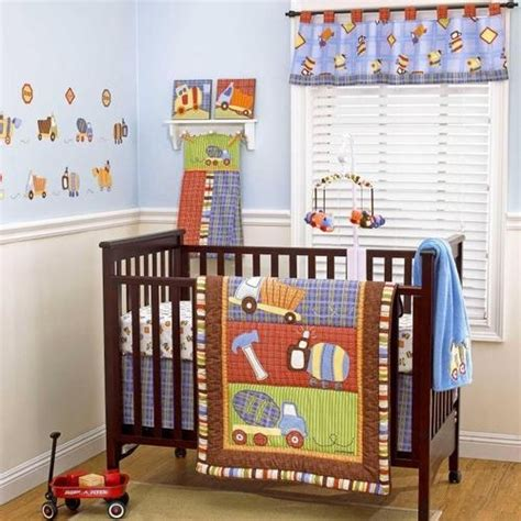 1000 Images About Nursery On Pinterest Construction Crib Bedding