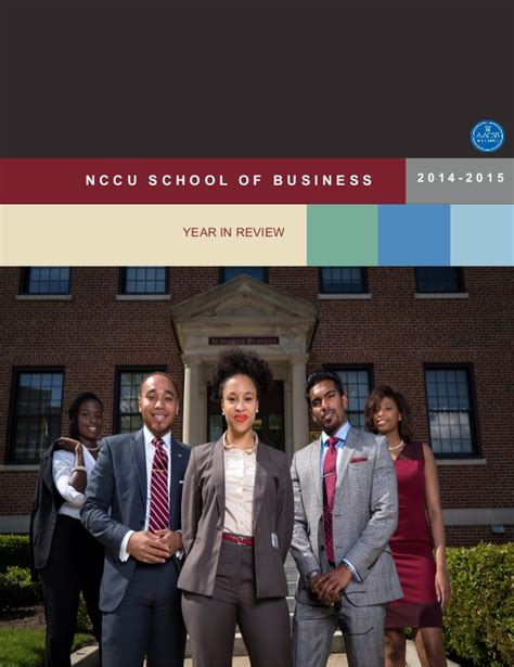 Mba At Of Review by Nccu School Of Business Year In Review
