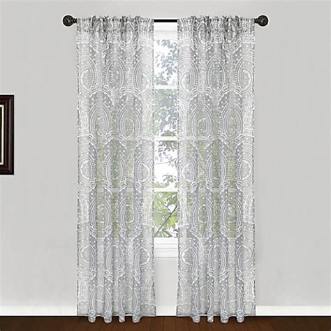 b smith curtains park b smith suzani pinch pleat window curtain panel pair