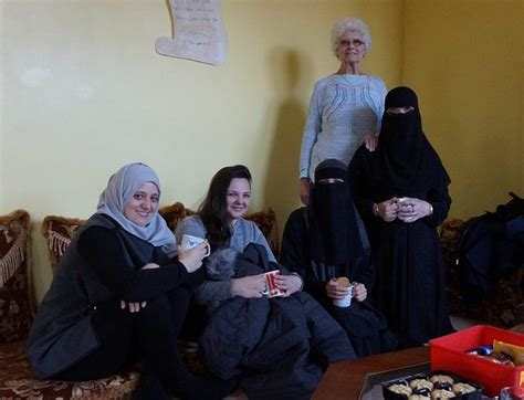 Niqab Sofia spending a morning with the sisters4sisters women s