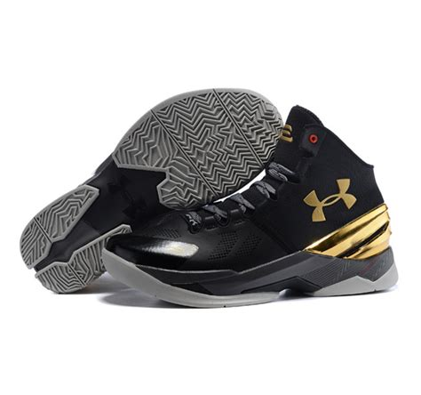 Armour Curry 2 0 Black Gold armour stephen curry 2 shoes black gold shoes