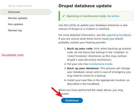 drupal theme update how to update drupal 8 core on a linux server linuxbabe com
