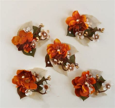 Wedding Hair Accessories Orange by Orange Wedding Hair Accessories Fall Hair Accessories
