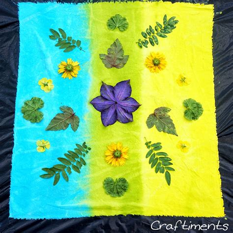 acrylic paint in fabric craftiments acrylic paint sun prints on fabric