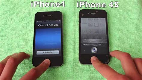 iphone 4s vs iphone 4 espa 209 ol