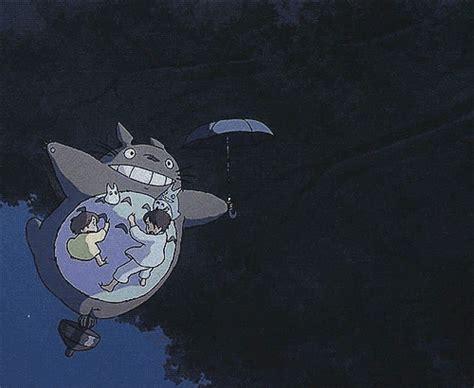 Totoro Satsuki Mei Pos studio ghibli gifs