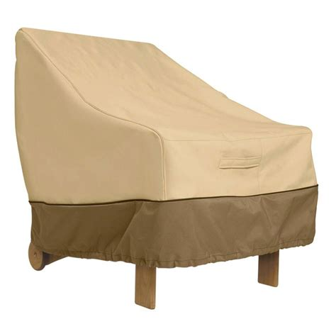 Patio Chair Cover Classic Accessories Veranda Patio Lounge Chair Cover 70912 The Home Depot
