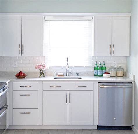 classic white kitchen cabinets a classic white kitchen makeover on a budget