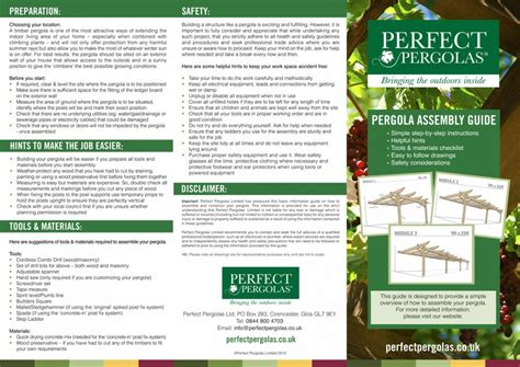 build your own pergola kit pergola assembly project shed
