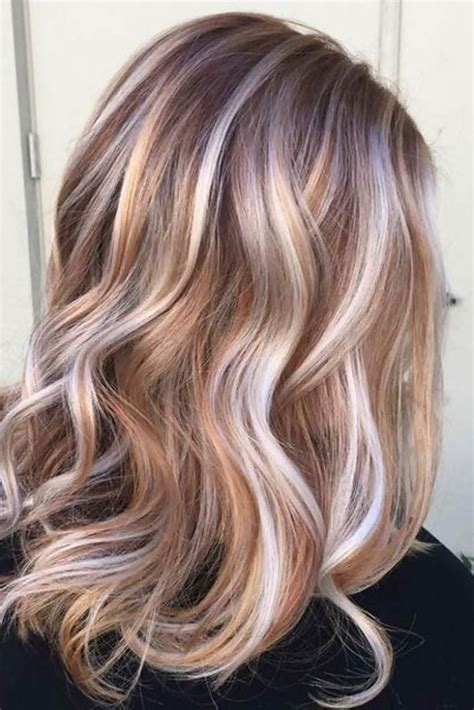 brown hair color with highlights ideas how to dye blonde and trendy hair color with highlights trendy hair highlights