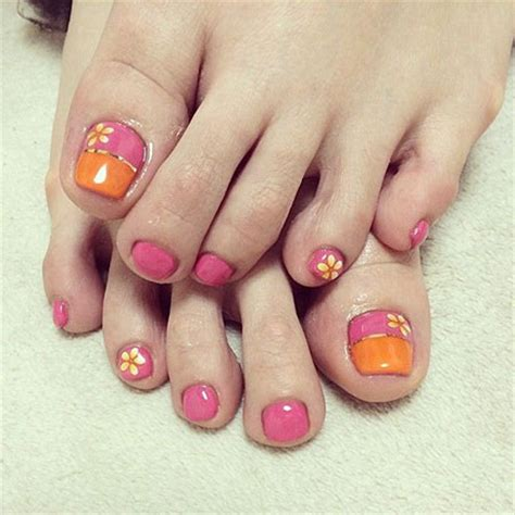 20 easy amp simple toe nail art designs ideas amp trends