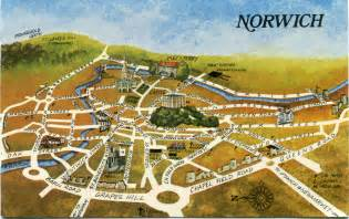 Norwich England Map by An Emotional Map Of Norwich So Outrageous