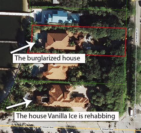 vanilla ice house exclusive vanilla ice the police report that got ice baby into hot water gossip