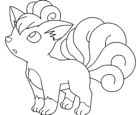 vulpix coloring pages coloring pages