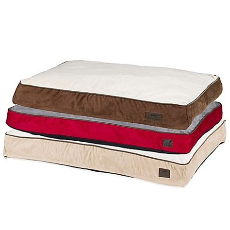 bed bath and beyond dog bed tall tails cushion comfort pet bed bed bath beyond