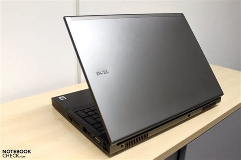 Laptop Dell M6500 on dell precision m6500 workstation notebookcheck net reviews