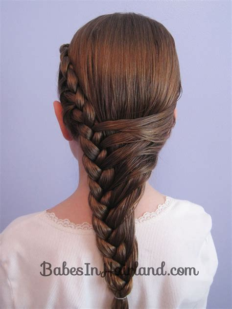 braided hairstyles on facebook half french braid hairstyle babes in hairland