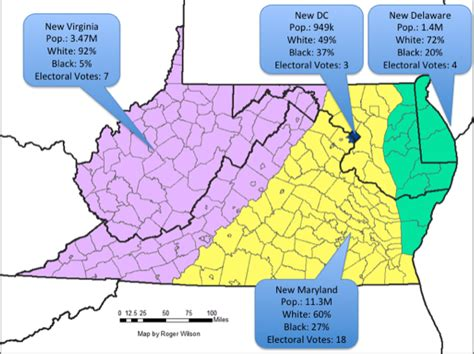 maryland demographics map had maryland annexed virginia here s what demographics