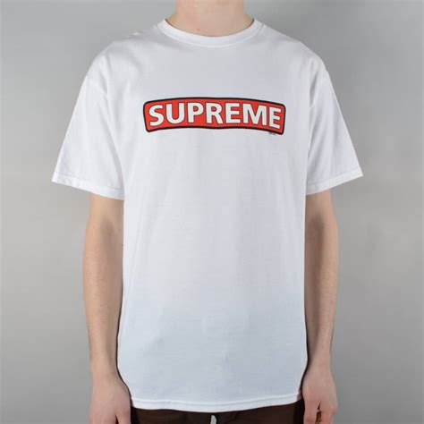 Supreme Shirts by Powell Peralta Supreme Skate T Shirt White Skate