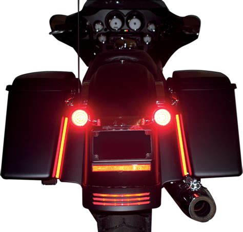 custom dynamics motorcycle lights custom dynamics 1 quot led motorcycle marker light cluster