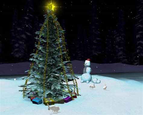 free christmas tree 3d screensaver download free