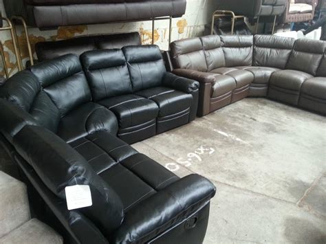Argos Leather Sofa Argos Paulo Black Real Leather Recliner Corner Sofa Moseley Birmingham