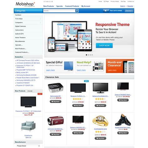 free responsive zen cart templates responsive zen cart template mobile friendly theme