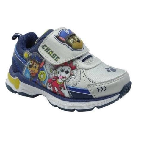 paw patrol light up sneakers paw patrol toddler s 2 light up sneakers