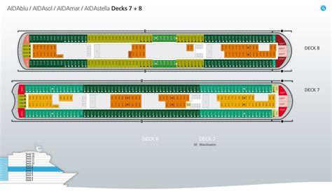 aidaprima kabinenplan aidastella position ᐅ deckplan kabinen fotos