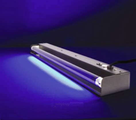 Ultraviolet Lights by Skytec Uv Blacklight Fluorescent Fixture 60cm 20w