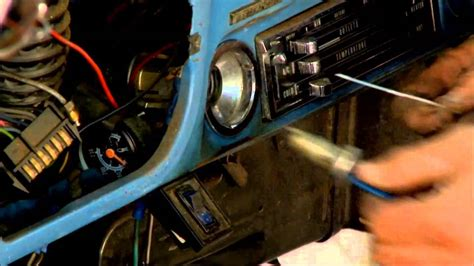 chevy gmc truck ignition lock cylinder removal